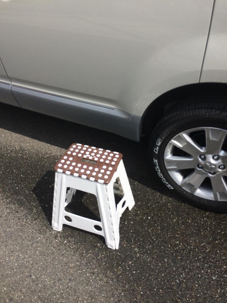 脚立 洗車 用