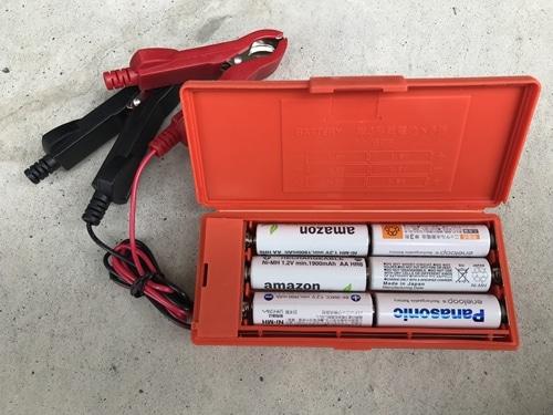 エネループなどの充電池でも問題なく使用できる