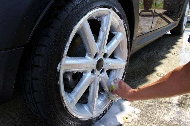冬場の走行をするたび洗車はしていられない